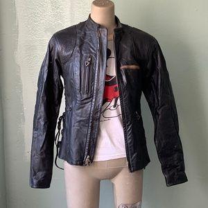 HARLEY-DAVIDSON Leather Moto / Biker Jacket, sz XS